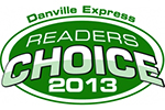Danville Express Readers Choice Winner