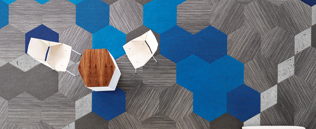 Hexagon Carpet Tile By Shaw Contract Diablo Flooring Inc