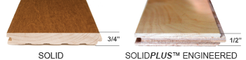 Solid and SolidPlus Engineered Thickness