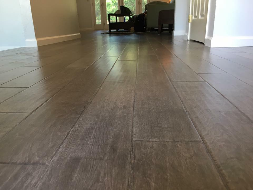 B And Crew Just Finish This New Engineered Hardwood Flooring By Millstone Style La Casa Color Birch Graphite That Turn Out Amazing