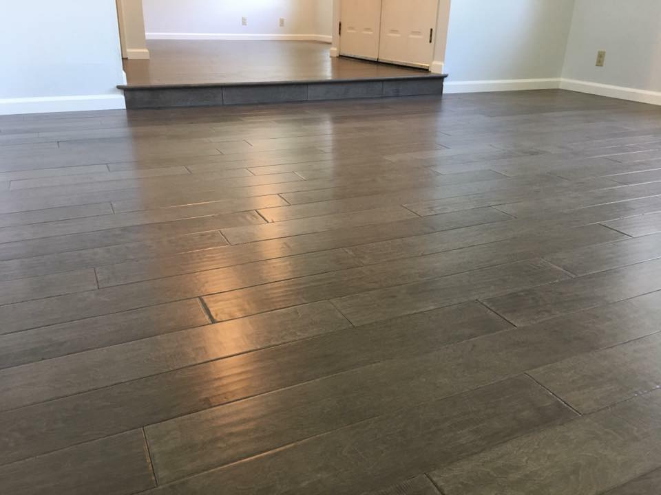 Walnut Creek Ca B And Crew Just Finish This New Engineered Hardwood Flooring By Millstone Style La Casa Color Birch Graphite That Turn Out Amazing
