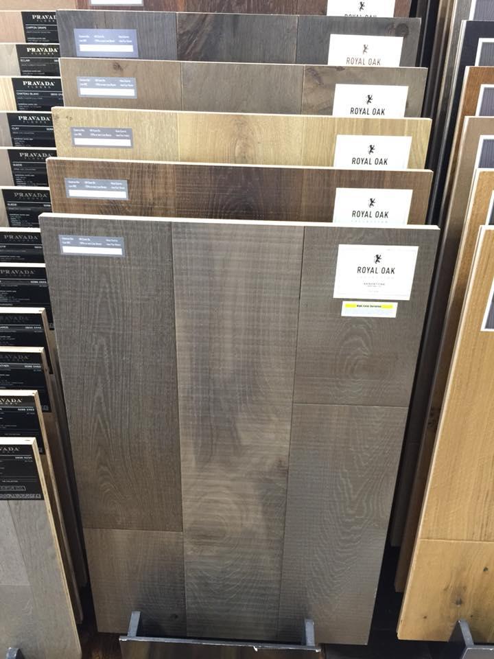 New Hardwood Flooring Display Diablo Flooring Inc